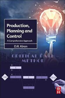 Production Planning and Control: A Comprehensive Approach - D.R. Kiran - cover