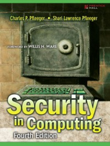 Ebook in inglese Security in Computing Pfleeger, Charles P. , Pfleeger, Shari Lawrence