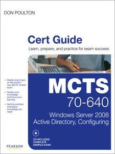 Foto Cover di MCTS 70-640 Cert Guide, Ebook inglese di Don Poulton, edito da Pearson Education