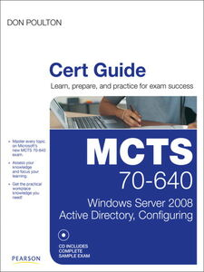 Ebook in inglese MCTS 70-640 Cert Guide Poulton, Don