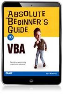 Ebook in inglese Absolute Beginner's Guide to VBA McFedries, Paul