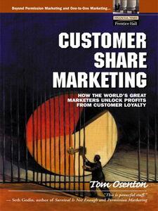 Ebook in inglese Customer Share Marketing Osenton, Tom