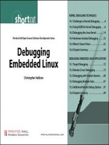 Ebook in inglese Debugging Embedded Linux (Digital Short Cut) Hallinan, Christopher