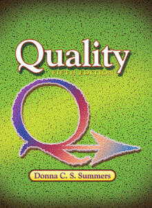 Quality - Donna C. S. Summers - cover