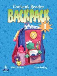 Backpack 1 Content Reader - Pearson - cover