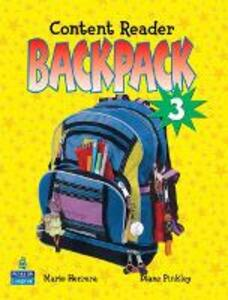 Backpack 3 Content Reader - Pearson - cover