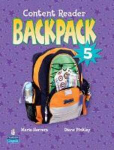 Backpack 5 Content Reader - Pearson - cover