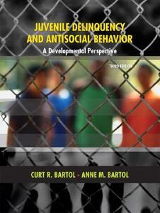 Juvenile Delinquency and Antisocial Behavior: A Developmental Perspective - Curt R. Bartol,Anne M. Bartol - cover