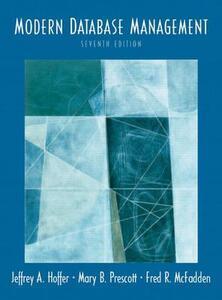 Modern Database Management & Oracle 10G Pkg. - Jeffrey A. Hoffer,Mary B. Prescott,Fred R. McFadden - cover