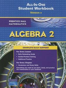 Algebra 2 All-In-One Student Workbook, Version A - cover