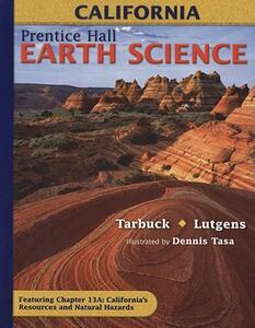 Earth Science, California - Edward J Tarbuck - cover