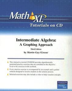 MathXL Student CD - K. Elayn Martin-Gay - cover