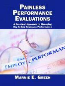 Painless Performance Evaluations - Marnie E. Green - cover