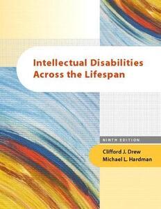 Mental Retardation: A Life Cycle Approach - Michael L. Hardman,Clifford J. Drew - cover