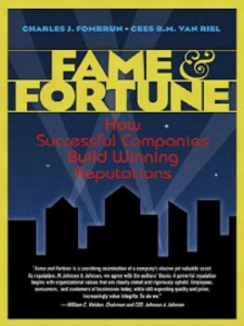 Ebook in inglese Fame and Fortune Fombrun, Charles J. , Riel, Cees B. M. Van