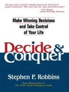 Ebook in inglese Decide and Conquer Robbins, Stephen P.