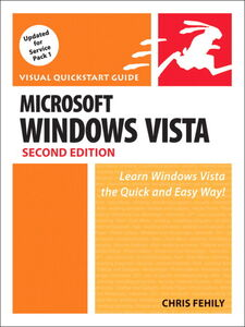Foto Cover di Microsoft Windows Vista, Ebook inglese di Chris Fehily, edito da Pearson Education