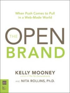 Ebook in inglese The Open Brand Mooney, Kelly , Rollins, Nita