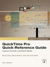 QuickTime Pro Quick-Reference Guide