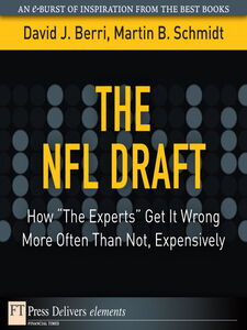 Ebook in inglese The NFL Draft Berri, David , Schmidt, Martin