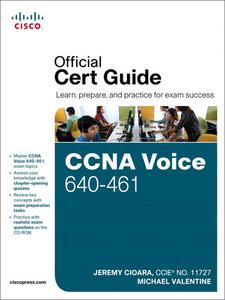 Ebook in inglese CCNA Voice 640-461 Official Cert Guide Cioara, Jeremy , Valentine, Michael H.