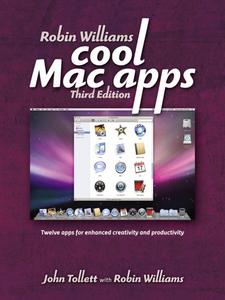 Ebook in inglese Robin Williams Cool Mac Apps Tollett, John , Williams, Robin