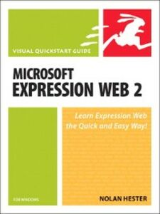 Ebook in inglese Microsoft Expression Web 2 for Windows Hester, Nolan