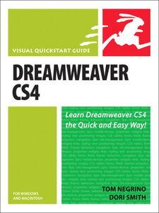 Foto Cover di Dreamweaver CS4 for Windows and Macintosh, Ebook inglese di Tom Negrino,Dori Smith, edito da Pearson Education