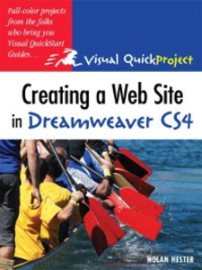 Ebook in inglese Creating a Web Site in Dreamweaver CS4 Hester, Nolan
