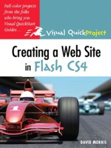 Ebook in inglese Creating a Web Site with Flash CS4 Professional Morris, David