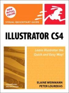 Foto Cover di Illustrator CS4, Ebook inglese di Peter Lourekas,Elaine Weinmann, edito da Pearson Education