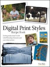 Digital Print Styles Recipe Book