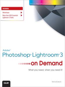 Ebook in inglese Adobe® Photoshop® Lightroom® 3 on Demand LoCascio, Ted