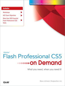 Ebook in inglese Adobe® Flash® Professional CS5 on Demand Inc., Perspection , Johnson, Steve