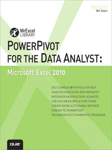 Ebook in inglese PowerPivot for the Data Analyst Jelen, Bill