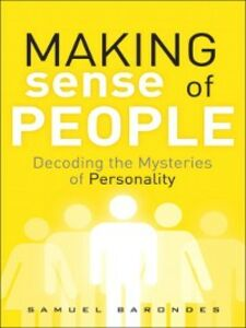 Ebook in inglese Making Sense of People Barondes, Samuel