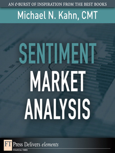 Ebook in inglese Sentiment Market Analysis CMT, Michael N. Kahn