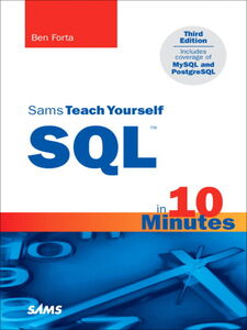 Ebook in inglese Sams Teach Yourself SQL in 10 Minutes Forta, Ben