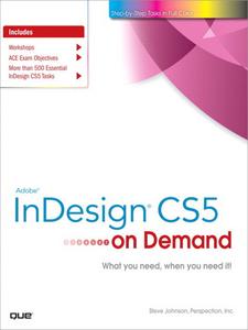 Ebook in inglese Adobe® InDesign® CS5 on Demand Inc., Perspection , Johnson, Steve