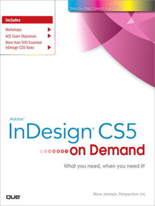 Ebook in inglese Adobe® InDesign® CS5 on Demand Inc., Perspection , Johnson, Steve