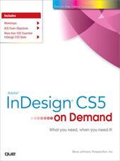 Adobe® InDesign® CS5 on Demand