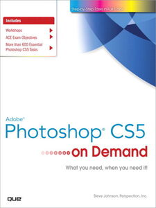 Ebook in inglese Adobe® Photoshop® CS5 on Demand Inc., Perspection , Johnson, Steve