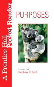 Purposes Pocket Reader - Stephen P. Reid - cover