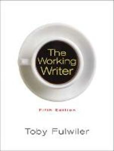 The Working Writer - Toby Fulwiler - cover
