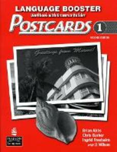 Postcards 1 Language Booster - Brian Abbs,Chris Barker - cover