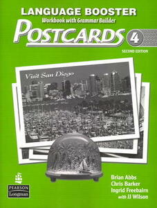 Postcards 4 Language Booster - Brian Abbs,Chris Barker - cover