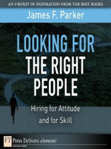 Ebook in inglese Looking for the Right People Parker, James F.