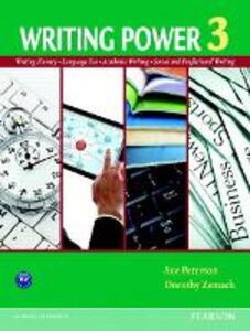 Writing Power 3 - Sue Peterson,Dorothy E. Zemach - cover