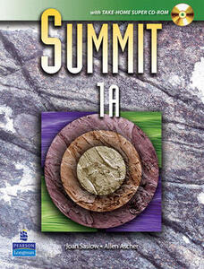 Summit 1A with Workbook and Super CD-ROM - Joan M. Saslow,Allen Ascher - cover