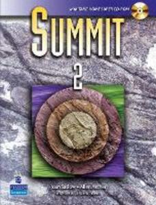 Summit 2 with Super CD-ROM - Joan M. Saslow,Allen Ascher - cover